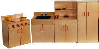 mainstream preschool kitchen set of 4 pieces