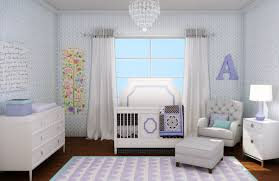 bedroom captivating nursery themes girls with cute design and light blue room pink leopard crib bedding