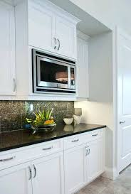 microwaves built in cabinets but there is a significant cost
