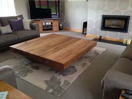 large ica floating style 1 5m square coffee table