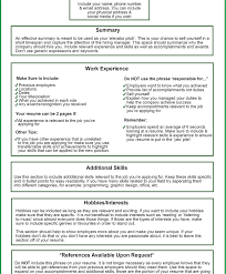 Things Put Your Resume Summary Awesome Not Excellent Photoshots