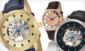 stuhrling skeleton watches groupon goods men s stuhrling skeleton watches men s stuhrling skeleton watches up to 84% off