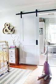 barn doors on a budget same old hinged door diffe installation via