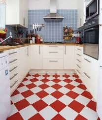 Red Tile Kitchen Floor Vinyl Floor Red Yellow And White Kitchen Floor Red White Kitchen