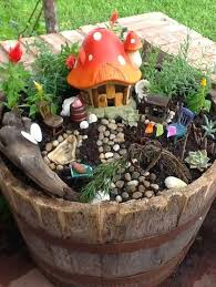 Great idea for a fun kids fairy garden. My kids would love this!