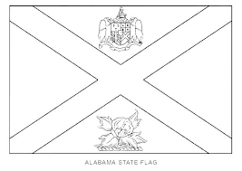 Florida State Flag Coloring Pages Flag Coloring Page State Flag