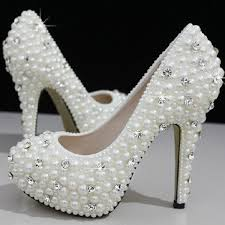best 25 pearl shoes ideas on pinterest chanel pearls, girls Cheap Wedding Shoe Boots cinderella's wish crystal & pearl wedding shoes Silver Wedding Shoes