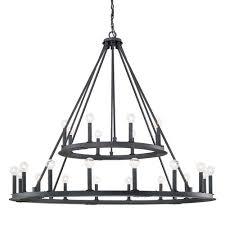 black metal chandelier. Capital Lighting Fixture Company Pearson Black Iron Twenty-Four Light Chandelier Metal G