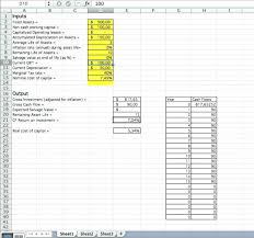 Microsoft Cash Flow Spreadsheet Cash Flow Template Xlssiness Valuation With Discounted