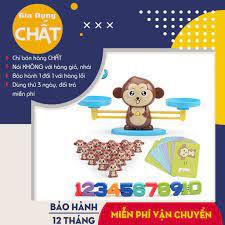 Bộ Đồ Chơi Khỉ Con Cân Bằng - Trò Chơi Toán Học Giúp Bé Say Mê Học Toán -  Phát Triển, Giáo Dục Sớm Cho Trẻ Em tại Hà Nội