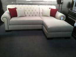 tufted sofa with chaise