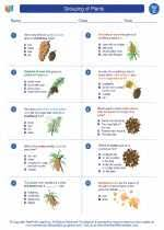 Free interactive exercises to practice online or download as pdf to print. Grouping Of Plants Third Grade Science Worksheets And Study Guides