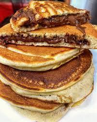 make pancakes without eggilk