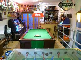guests visiting the tavern can also enjoy a game of table football or pool as they