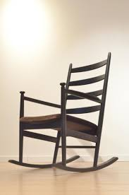 wooden rocking chair. Mid-Century Swedish Wooden Rocking Chair By Poul M. Volther For Gemla E