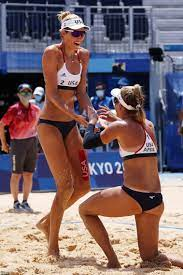 gold in the women's beach volleyball ...