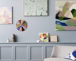 blue wall interior