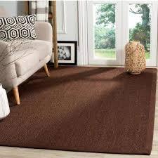 natural fiber chocolate dark brown