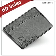 Mens Leather Wallet Id Credit Business Card Money Holder Front