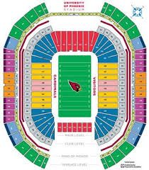 Broncos Tickets Seating Chart Complete Guide To The University Of Phoenix Stadium In