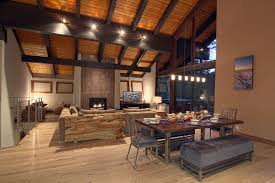 rustic track lighting dining room rustic with vaulted ceiling vaulted ceiling cathedral ceiling track lighting