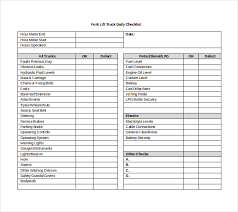Daily Checklist Templates Download