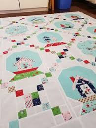 Christmas holiday snow globe quilt - Tasha Noel | Quilts and ... & winter wonderland quilt top pattern by Tasha Noel fabric pixie noel by  Tasha Noel made by Adamdwight.com