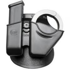 Double Magazine Pouch With Handcuff Holder Fobus Paddle Style Handcuff And Magazine Combo Holster 42