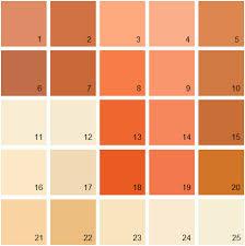 benjamin moore paint colorBenjamin Moore Paint Colors  Orange Palette 09  House Paint Colors