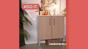 Diy Fabriquer Une Console Avec Un Meuble De Cuisine Castorama