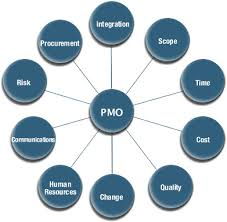 a pmo generally bases its project management principles practices and processes on some kind of industry standard methodology such as pmbok or prince2 pmo responsibilities