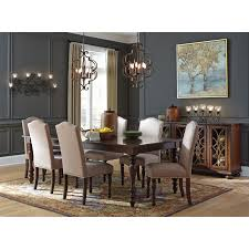 Traditional Dining Room Server With GlassWood Grille Doors By - Traditional dining room set
