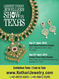 largest indian jewellery show in texas