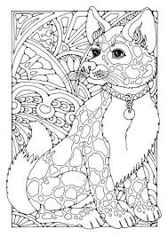 Small Picture Dog Coloring Pages For Adults Cecilymae
