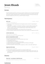 Sample Of Electrician Resumes Electrician Resume Samples And Templates Visualcv
