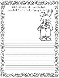 This easter writing prompt will get your child to think about easter traditions and then order his easter creative writing #5. The Easter Bunny S Assistant Writing Prompt Easter Writing Activity Easter Writing Prompts Writing Prompts