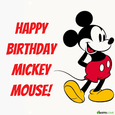 Mickey Mouse Birthday 2020 Images