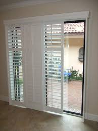 spray paint sliding glass door modernize your sliding glass door with plantation shutters pics amazing painting