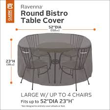 ravenna patio bistro table chair set cover premium outdoor furniture cover with durable and