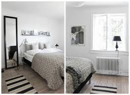 scandinavian bedroom furniture. this minimalist scandinavian bedroom design was given a more livedin look with print furniture