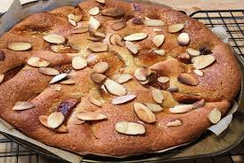 Caramelized Apple Almond Cake with Ginger Cook for Your Life
