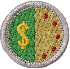 Personal Management Merit Badge Emblem