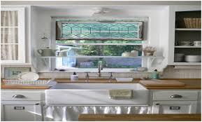 Above The Kitchen Sink Shelf Kitchen Window Over Sink Kitchen