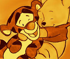 baby tigger and pooh. Fine And Baby Pooh Images Baby Pooh Drawing HD Wallpaper And Background Photos And Tigger
