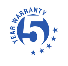 Image result for 5 YEAR WARRANTY