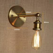 discount bathroom vanity lights. aliexpress buy industrial style antique gold metal wall lamp discount bathroom vanity lights n