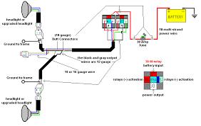 headlight relay wiring diagram Headlight Wiring Diagram headlight relay wiring diagrams headlights wiring diagram