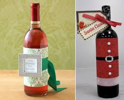 How To Decorate A Wine Bottle For Christmas Creative wine bottles packaging for Christmas a great gift 9