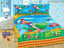 super mario brothers bedding twin sheets super mario brothers full comforter sheet set 5 piece bedding