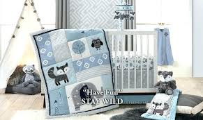 sports crib bedding spots cib football baby set collection themed canada